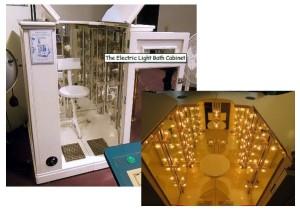 Kellogg Radiant Heat Bath or Electric Bath Cabinet
