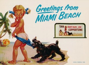 Little Miss Coppertone, Billboard, Miami Beach, FL