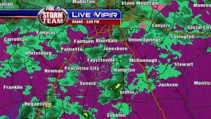 VIPIR Image from local Atlanta FOX affiliate, Channel 5
