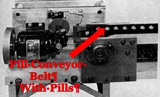 Pill Conveyor Belt