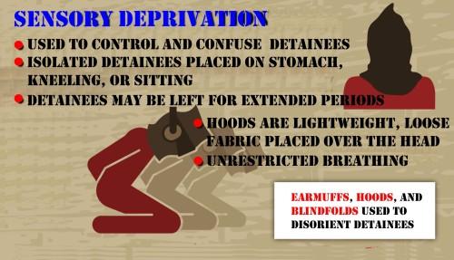 Figure 11: Sensory Deprivation