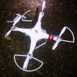 Infamous DJI Phantom I After Abrupt Flight Termination on White House Lawn