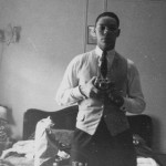 Self-portrait of Colin Luther Powell (born 1937) as a teenager.
