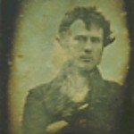 The first selfie taken by Robert Cornelius in October 1839 in Philadelphia