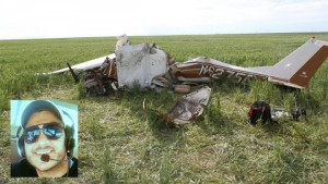 Amritpal Singh was killed in the crash of his Cessna 150 in a wheat field near Denver.  NTSB reports the cause of the crash was pilot error as the result of attempting to take a selfie. https://www.youtube.com/watch?v=OW1M321fkIk