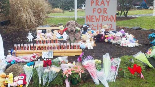 Newtown Shooting Memorial Illustration